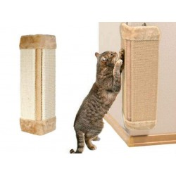 Pet Kitten Corner Sisal Wall Scratcher Cats Hanging Cat Scratching Post Board- Color May Vary