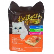 Bellotta Cat Food, Tuna and Salmon, 85 g Pouch (Pack of 3)