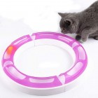 Cat Senses Wave Tube Circuit Ball Toy, Best Kitty Cat Round Play Senses Play Set Circuit Teaser Toy, Adjustable Shape, Multiple Layout Possibilities Cat Toy- Color May Vary