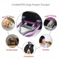 Dorapet Pooper Scooper Dog Waste Scoop Sanitary Pickup Remover for Outdoor Dog cat Walking 1 Piece (Color May Vary)