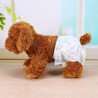 Vet's Best Comfort Fit Disposable Dog Diapers 10 Pcs Size- Large Suitable to Waist 34-54cm Weight 10-20kg