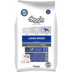 Drools Large Breed Puppy, Premium Dog Food, 3kg