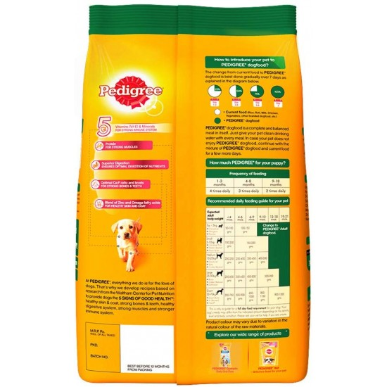 Pedigree Puppy Milk and Vegetable 1.2 Kg