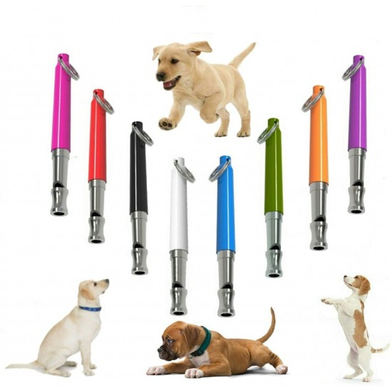 Dog Whistle to Stop Barking, Adjustable Pitch Ultrasonic Training Tool Silent Bark Control for Dogs