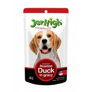 Jerhigh Roasted Duck in Gravy, 120 g (Pack of 12)