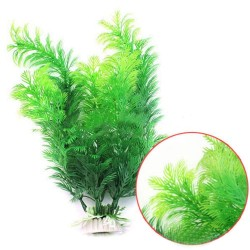 Aquamarine Artificial Fish Tank Aquarium Decoration Green Plastic Underwater Grass Plant